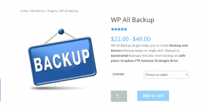 WP All Backup
