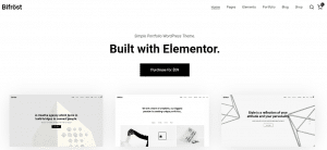 Portfolio WordPress Themes, bifrost theme