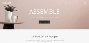 assemble theme, best free themes