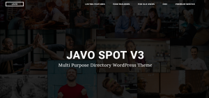 javo spot theme, multipurpose theme