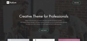 kalium theme, best free themes for WP