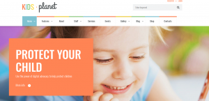 kids planet theme, best theme for website