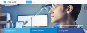 Dentist wordpress theme, medicenter theme.