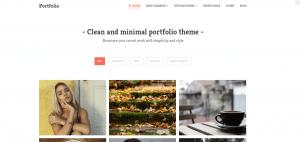 portfolio theme, portfolio theme ideas