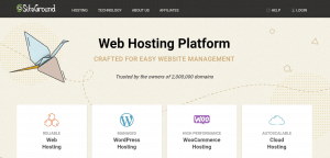 free hosting, siteground services