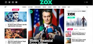 zox news theme, responsive theme