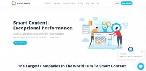 atomic reach platform, artificial intelligence platform