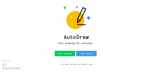AI tools for marketing, Google AutoDraw