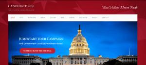 candidate theme, Government WordPress Themes