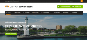 city of wordpress, best free and paid wordpress theme