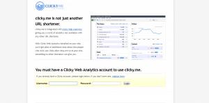 clicky.me website, URL Shortener Websites