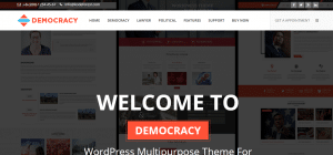 Government WordPress Themes, democracy theme