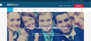 diplomat theme, best free and paid theme