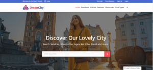 dream city theme, bestt free and paid WP theme