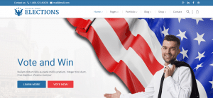 elections theme, goverments wordpress theme