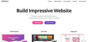 impreza theme, best free WP themes