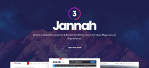 jannah theme, Selling, WordPress Magazine Themes