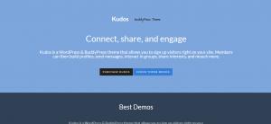 WordPress BuddyPress Themes, kudos theme