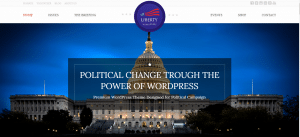 Government WordPress Themes, liberty theme