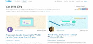 moz blog, Marketing Blogs