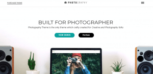 photography theme, WordPress Photography Themes