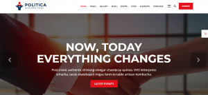 politica theme, best free and paid WP theme