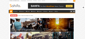 sahifa theme, Selling WordPress Magazine Themes