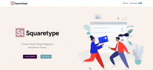 squaretype theme, best free and paid theme