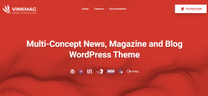 vinkmag theme, best free and paid theme
