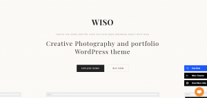 wiso theme, best free and paid WP theme