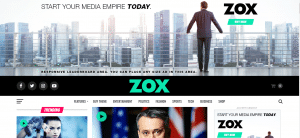 Zox news theme, best free and paid theme