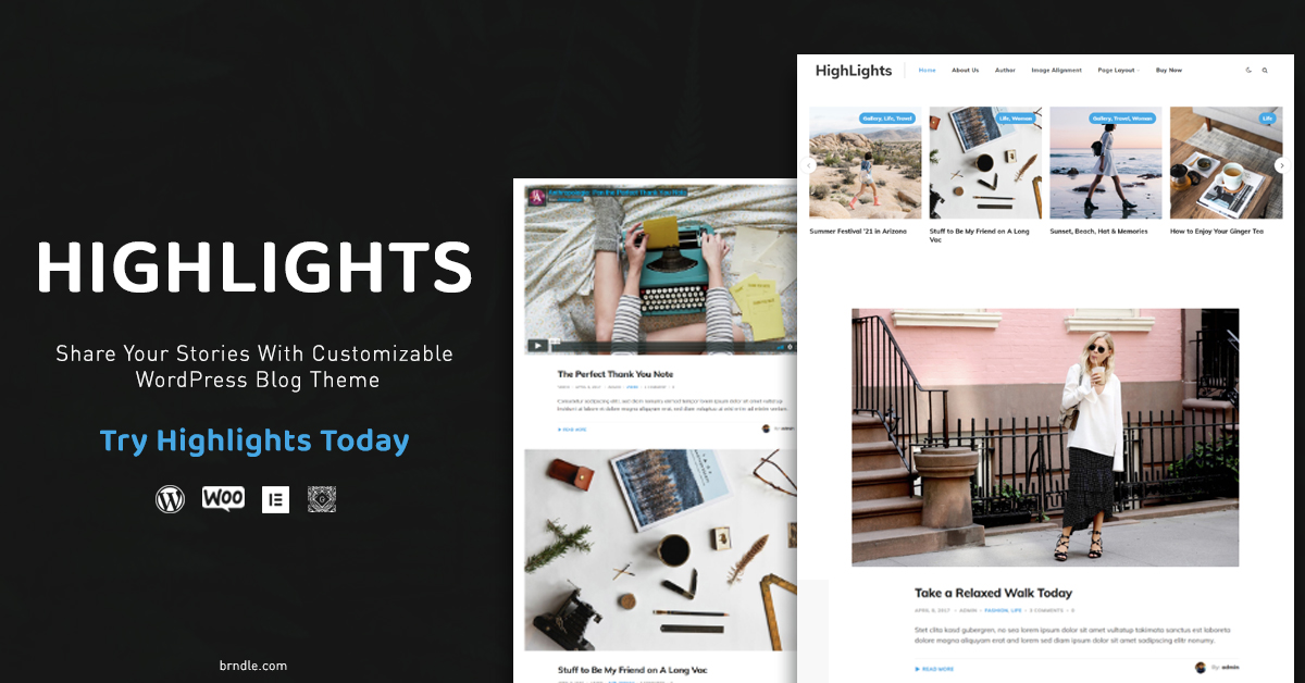 WordPress Blog Theme