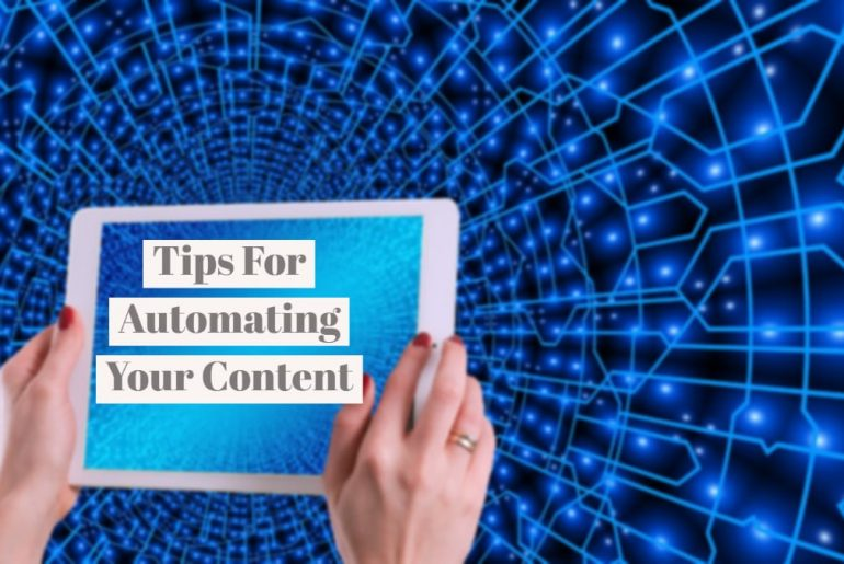 Tips For Automating Content Marketing